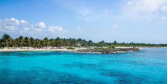 mare cristallino di Isla Mujeres