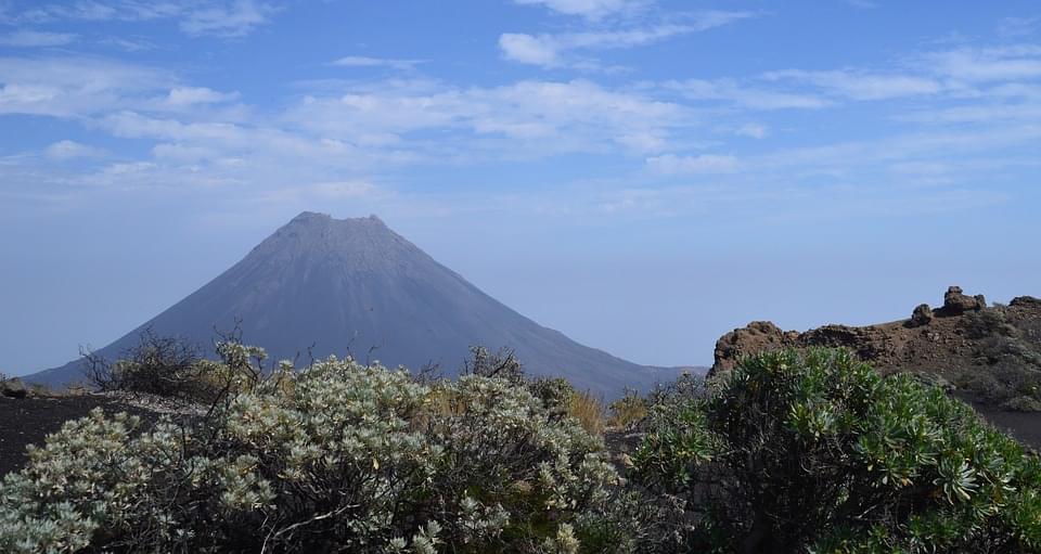 vulcano pico do fogo capo verde