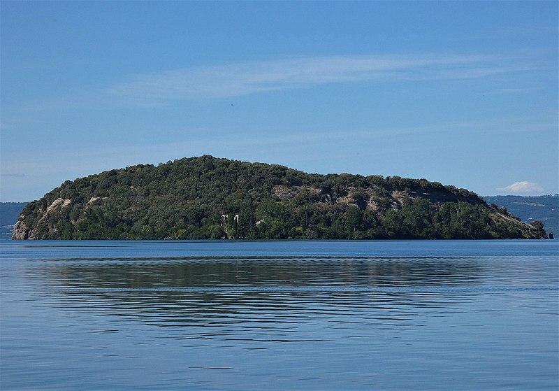 Il Fantasma della regina Amalasunta nell' Isola Martana
