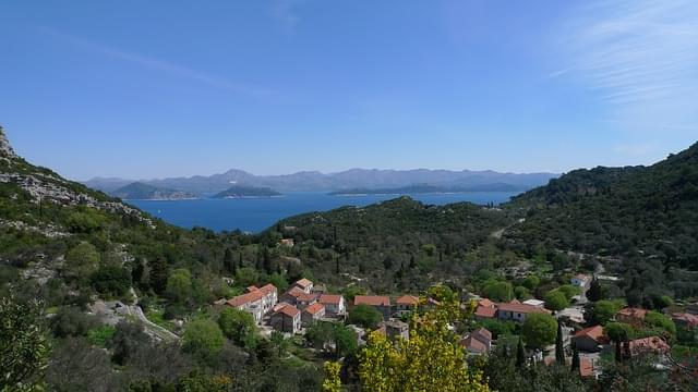 isola mljet croazia adriatico