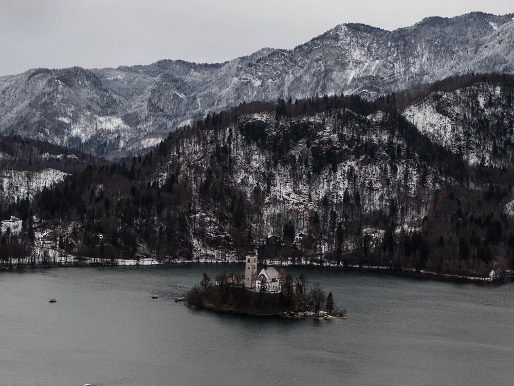 Isola lago di bled slovenia