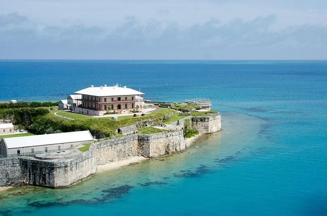 casa sul mare nelle isole bermuda