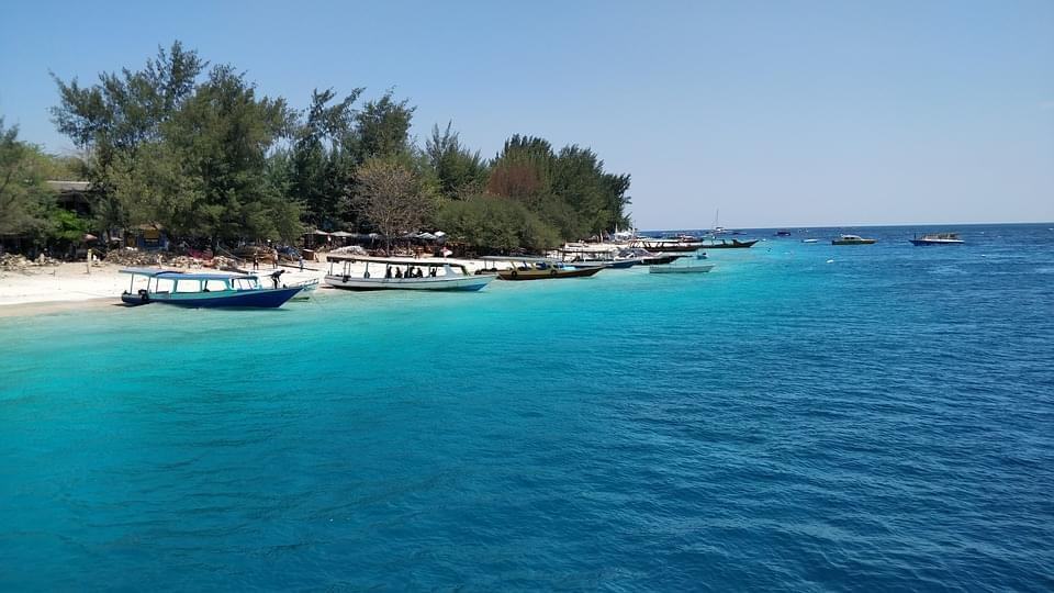 isole gili trawangan indonesis