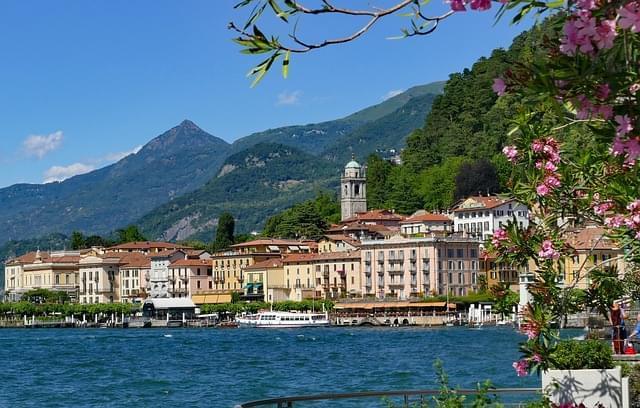 italia lago di como bellagio