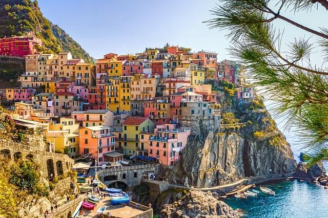 italia mare case cinque terre 2