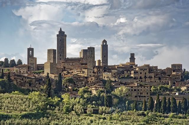 italia tuscany san gimignano 1