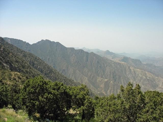 jabal soodah montagna parco nazionale