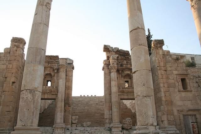 jerash cattedrale