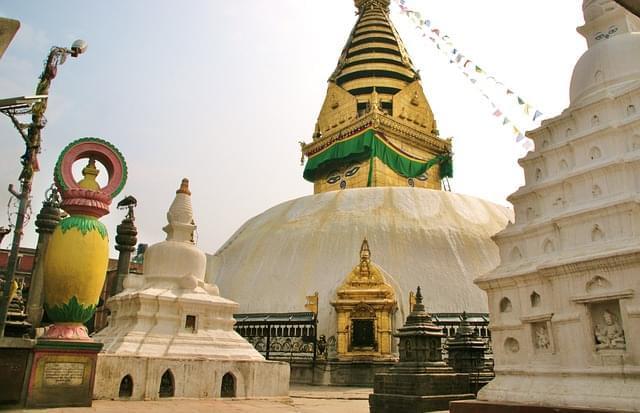 kathmandu stupa swyambhnunath
