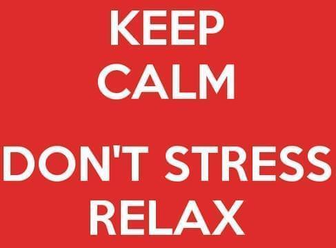 evitare lo stress