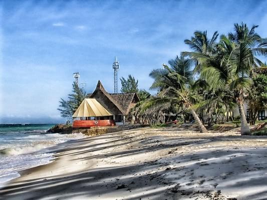 kenya spiaggia