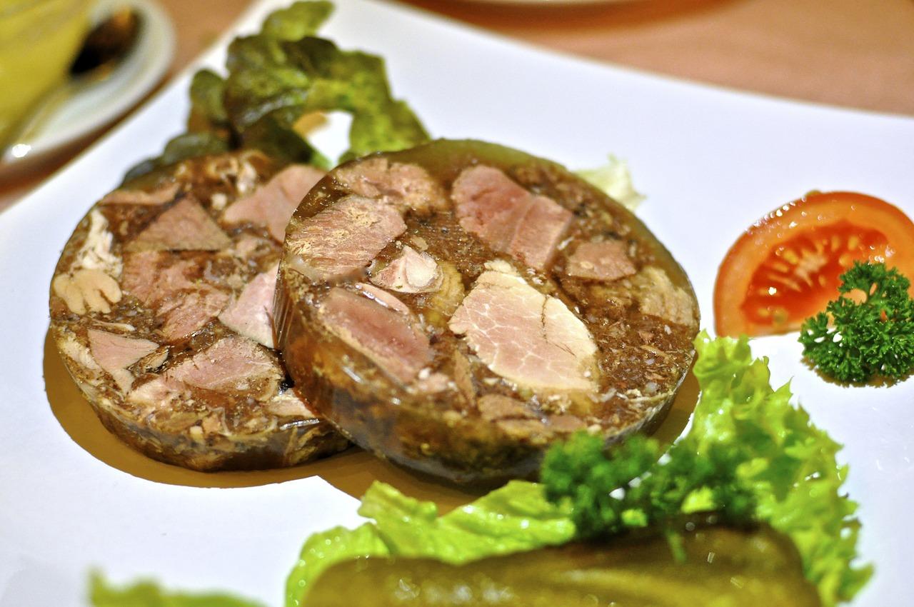 kholodet, carne in gelatina