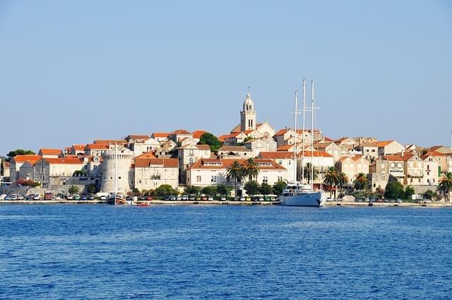 korcula croazia isola