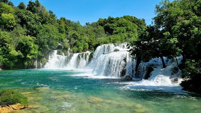 krka cascata croazia natura park 1