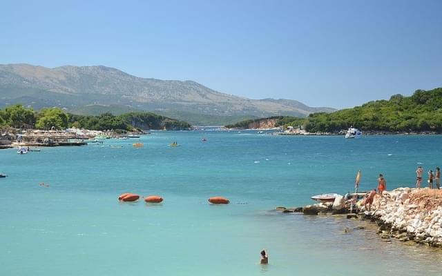 ksamil albania mare
