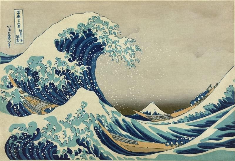 la grande onda di kanagawa
