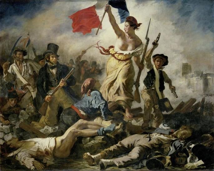 la liberta che guida il popolo louvre