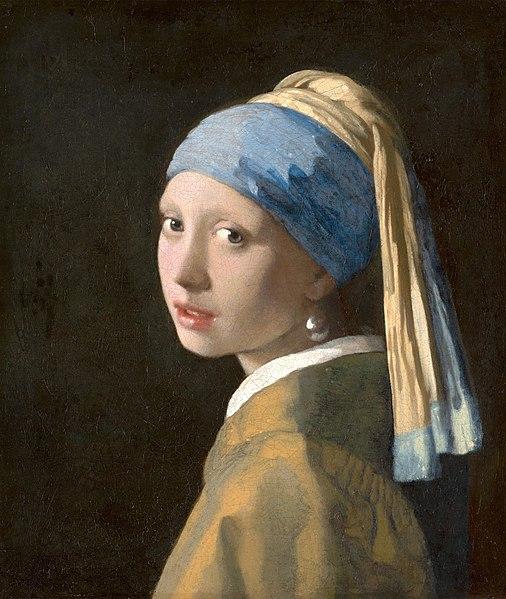 ragazza con orecchino di perla