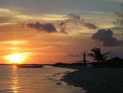 la tortuga tramonto