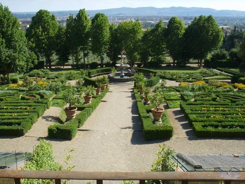 Nei Giardini della Petraia, Firenze