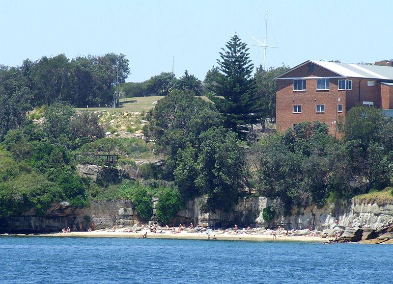 panoramica dall'alto di lady bay