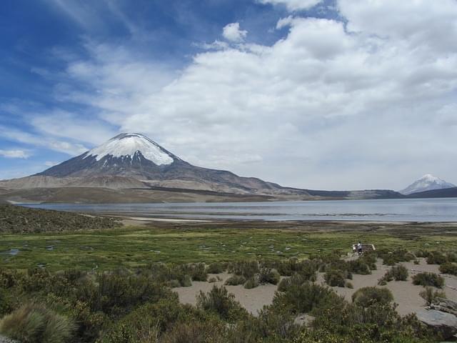 lago chungar lauca