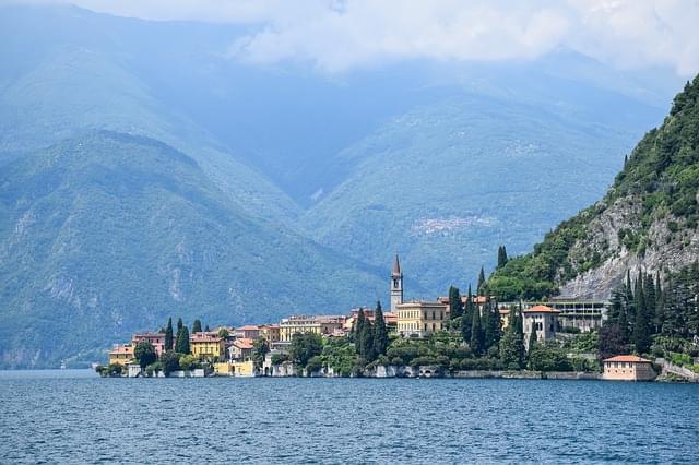 lago di como italia vacanza mare