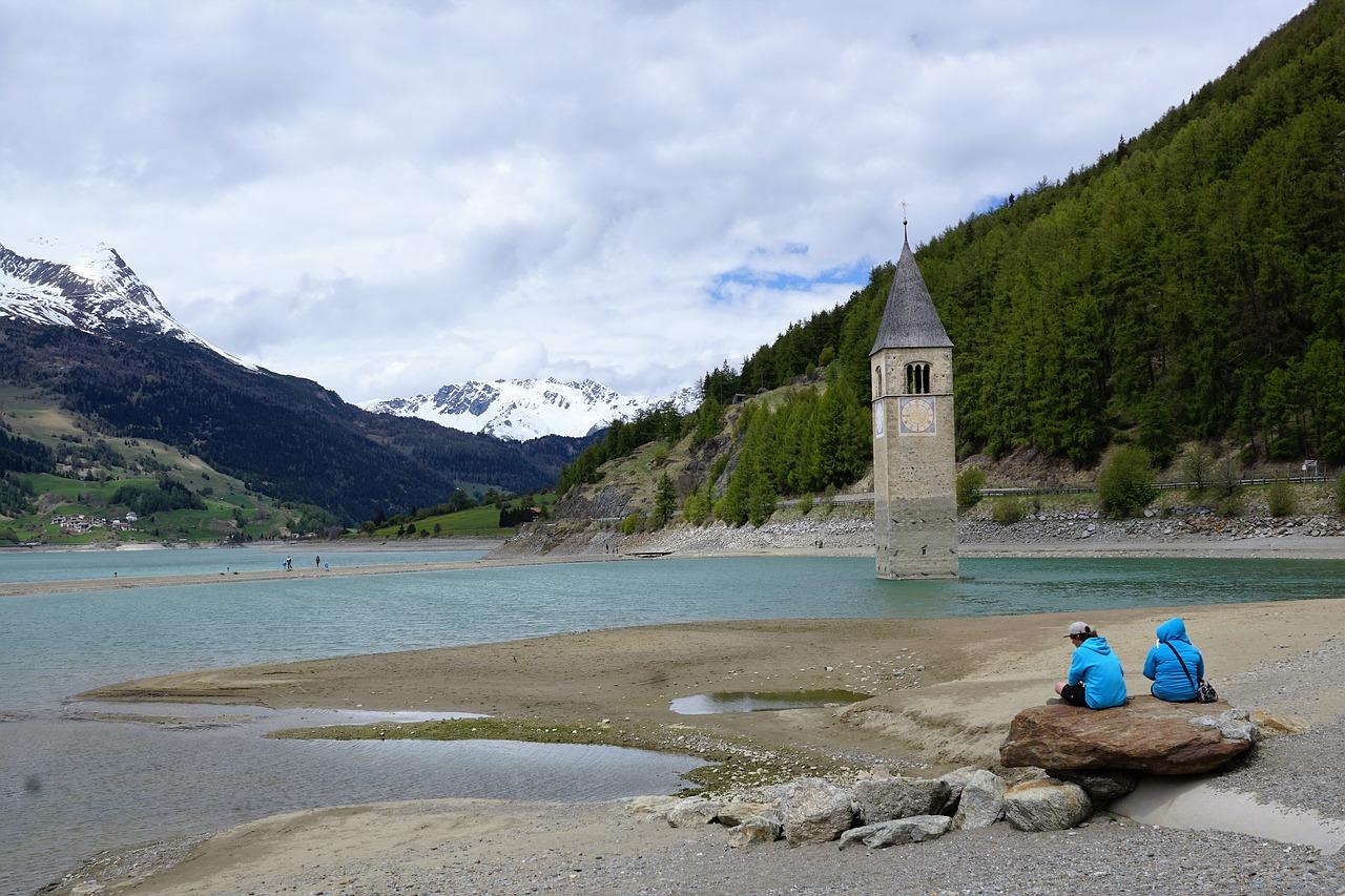Curon Venosta e il Campanile nel Lago