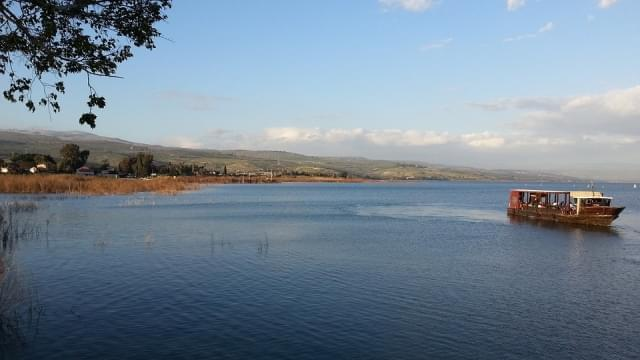 lago tiberiade israele