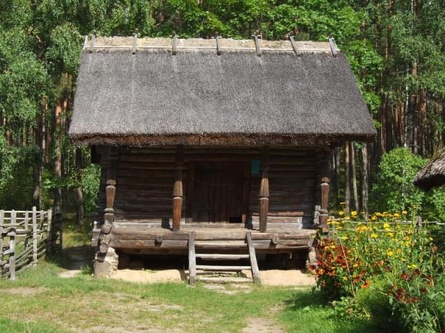 latvian ethnographic open air museum living house