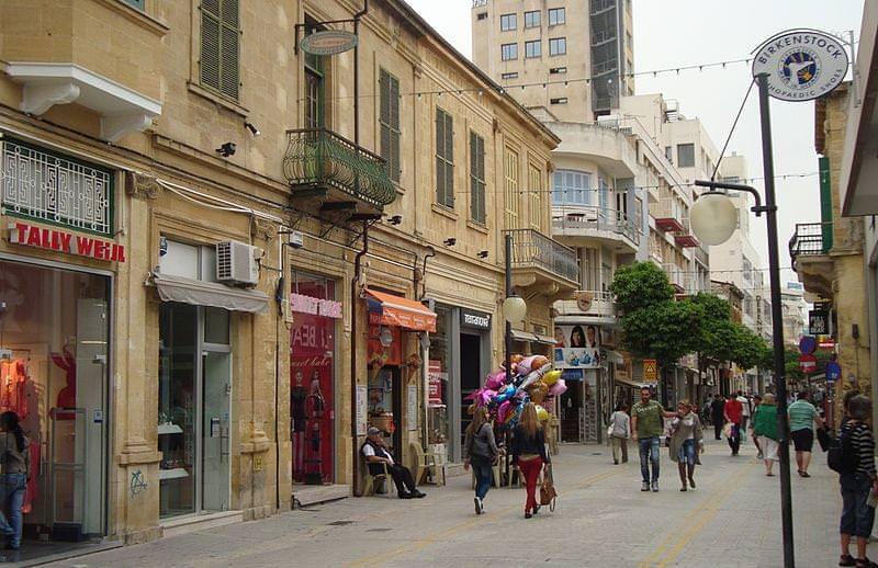 ledra street nicosia cipro