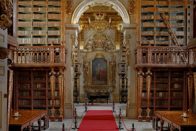 Biblioteca Joanina-Coimbra, Portogallo
