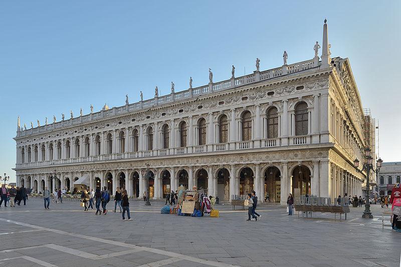 Biblioteca Marciana di Venezia, Italia