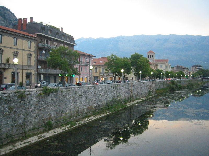 Liri-Garigliano, 158 Km