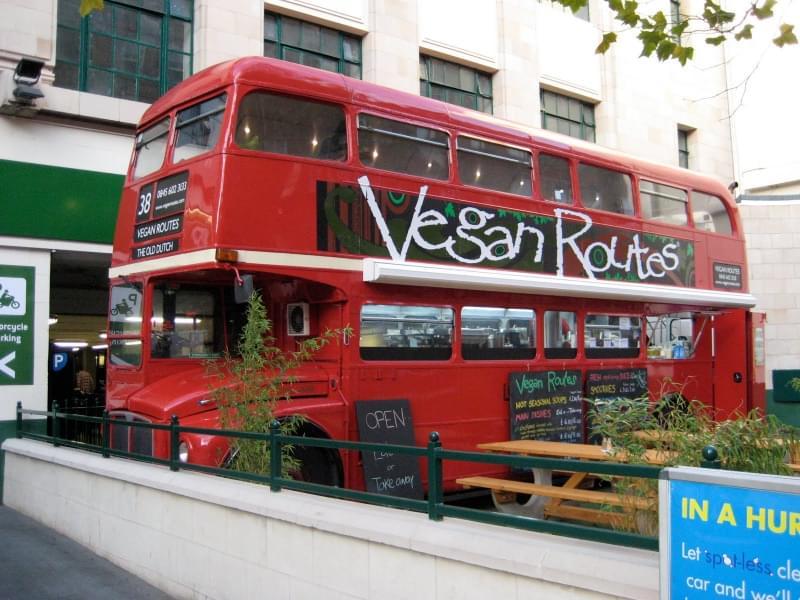 locale vegan centro londra