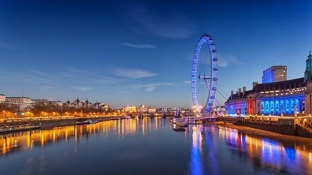 london eye londra panoramica