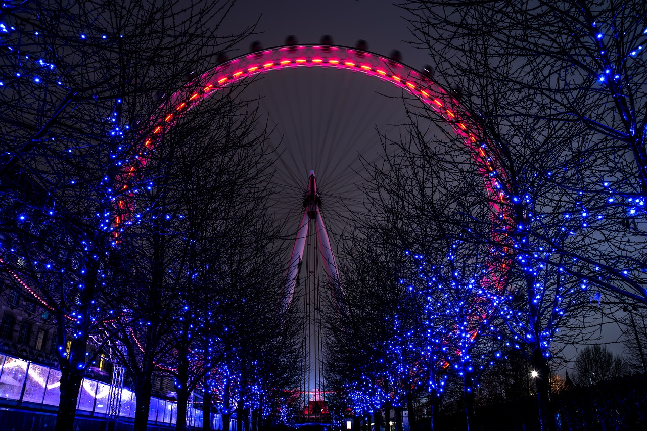 london eye londra