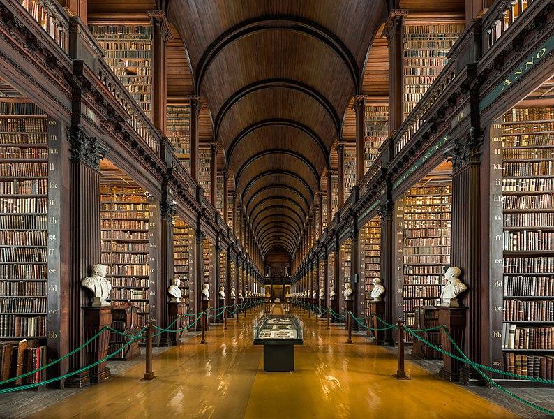 Trinity College Old Library di Dublino, Repubblica d'Irlanda