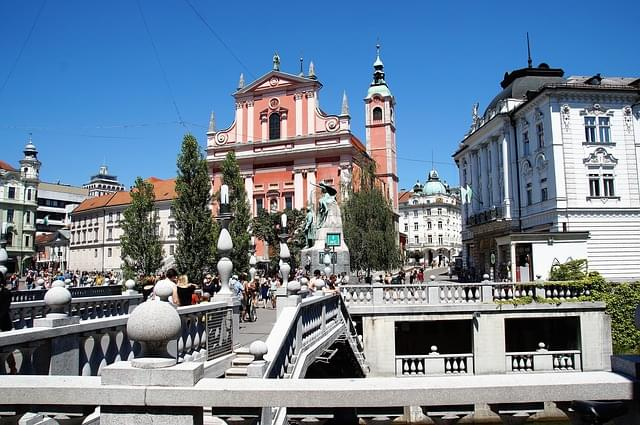 lubiana centro storico