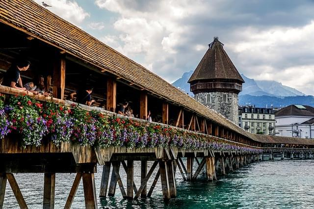 lucerna svizzera cappella ponte