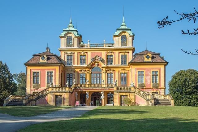 ludwigsburg castello vicino stoccarda
