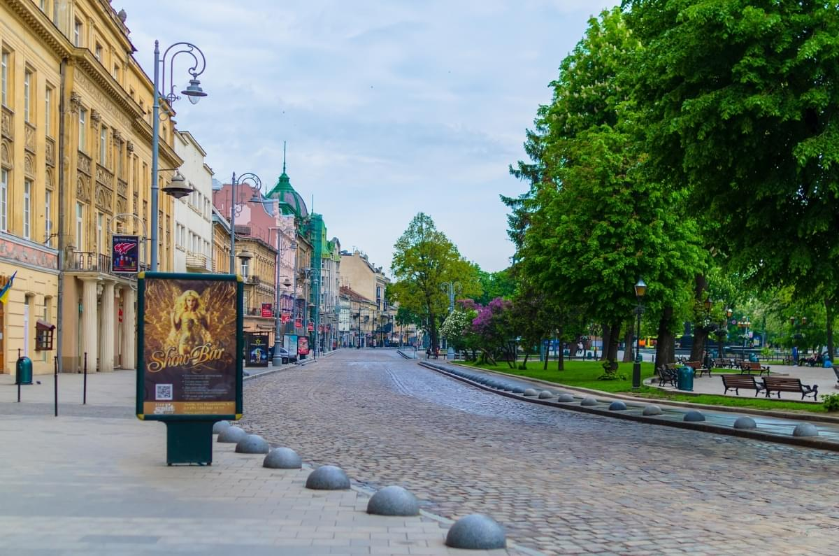 lviv strade centro