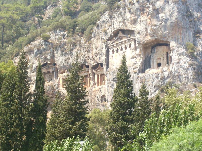 Tombe della Licia a Dalyan
