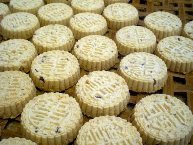 squisiti i biscotti alle mandorle di macao