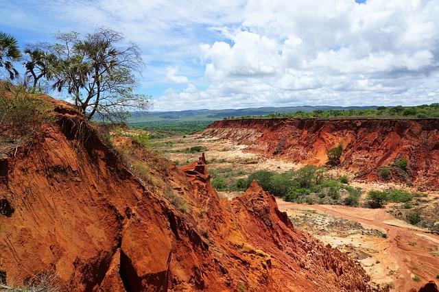 madagascar parco tsingy rouge