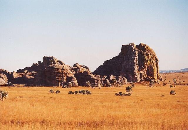 isalo madagascar africa