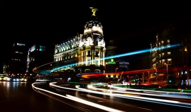 timelapse madrid gran via