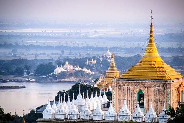 mandalay birmania pagoda tempio