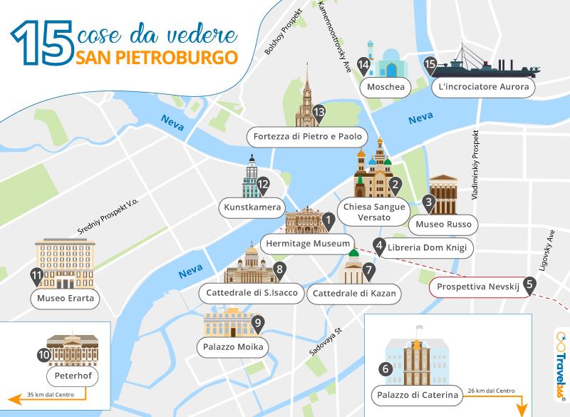 Cartina Della Francia Con Monumenti.Cosa Vedere A San Pietroburgo Le Migliori Attrazioni E Consigli Pratici Sulla Citta