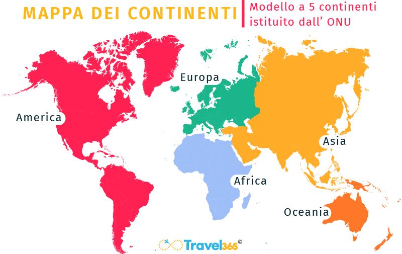 Cartina Asia Da Colorare.Continenti Quanti Sono Qual E Il Piu Grande E Altre Curiosita